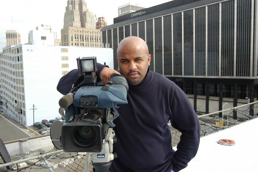 Sunny Shields, news cameraman and Local 600 representative at NBC (Detroit, MI)