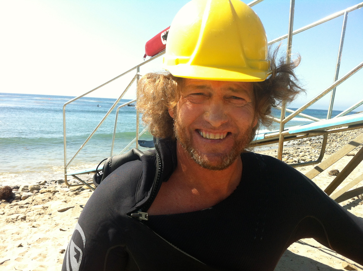 Sonny during production of Ride / Leo Carillo State Beach / Malibu, CA