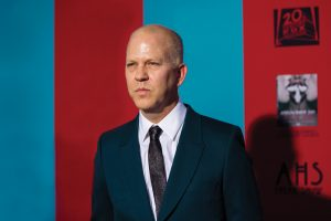 """Co-creator and executive producer Ryan Murphy poses at the premiere of """"American Horror Story: Freak Show"""" in Hollywood, California October 5, 2014. The fourth season premieres on FX on October 8. REUTERS/Mario Anzuoni  (UNITED STATES - Tags: ENTERTAINMENT) - RTR491SA"""