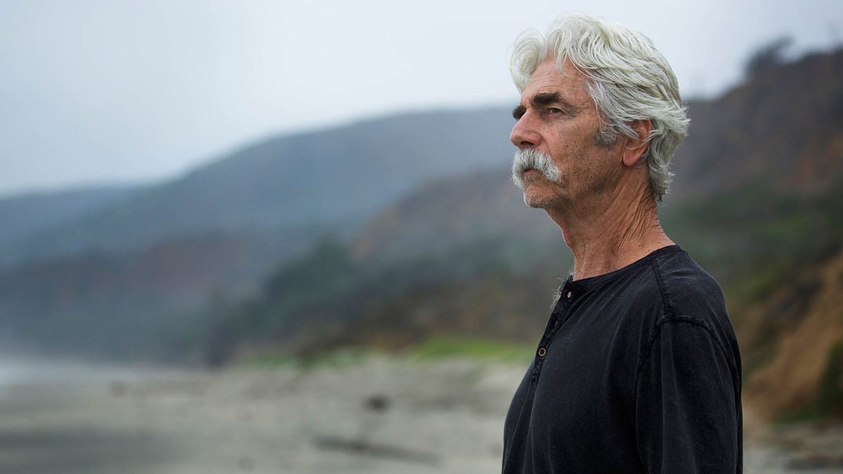 In The Hero, shot by Rob Givens, Lee Hayden (Sam Elliott) is an aging Western icon with a golden voice / Photo by Beth Dubber