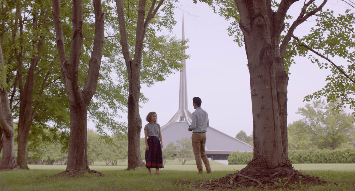 Columbus – Elisha Christian shot this story about a Korean-born man (John Cho) who finds himself stuck in Indiana.