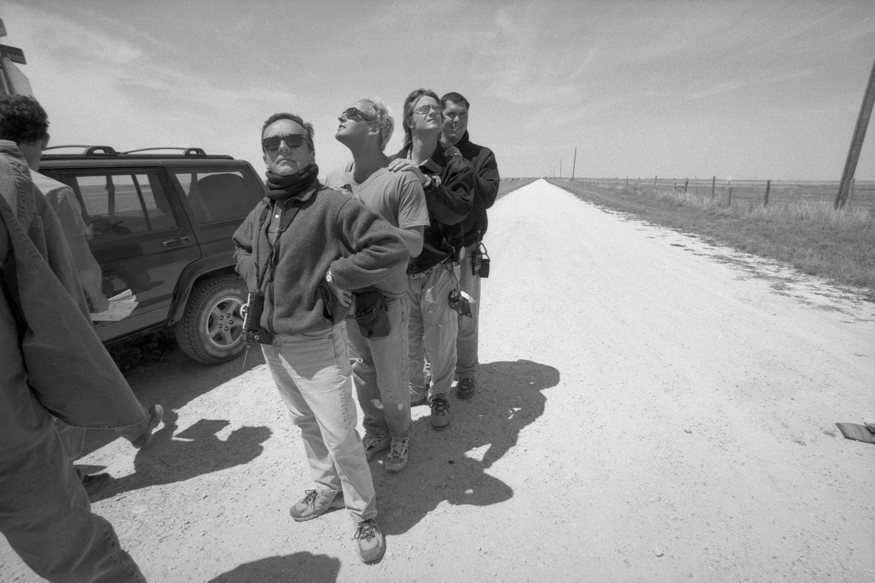 In Pampa, Texas to shoot the conclusion of Cast Away / Photo by Zade Rosenthal