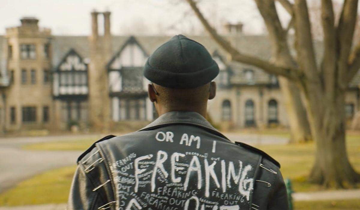 Ashton Sanders appears in director Rashid Johnson's film /Photo Courtesy of Matthew Libatique ASC/Sundance Institute