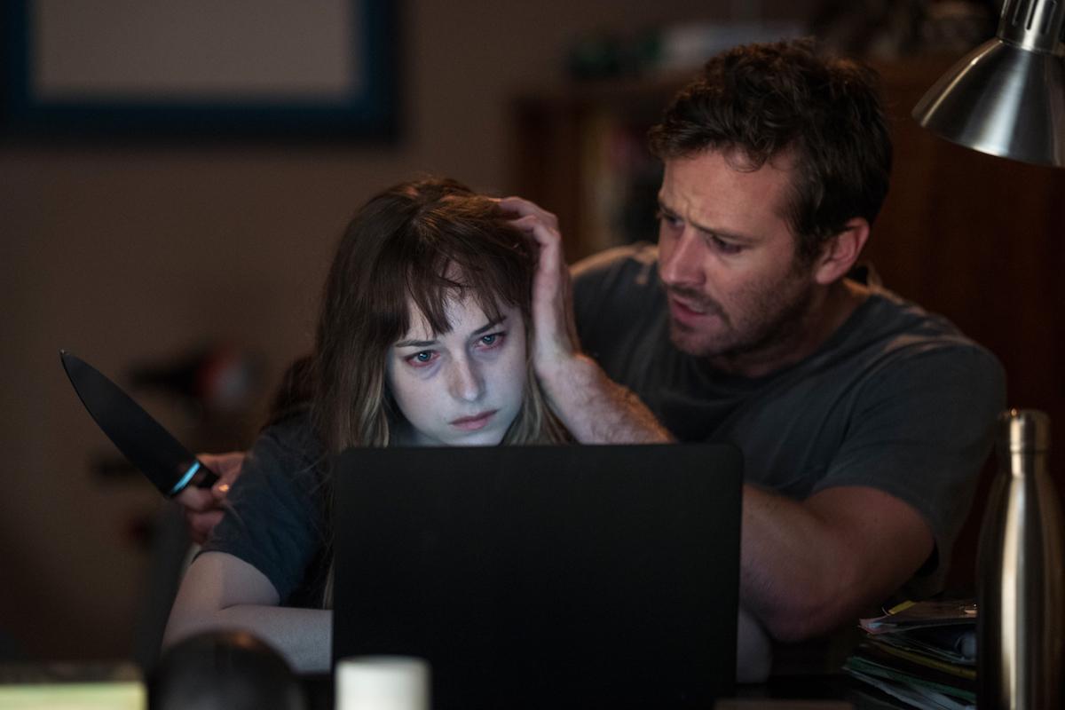 Dakota Johnson and Armie Hammer in Babak Anvari's thriller / Photo by Michele K .Short / Sundance Institute