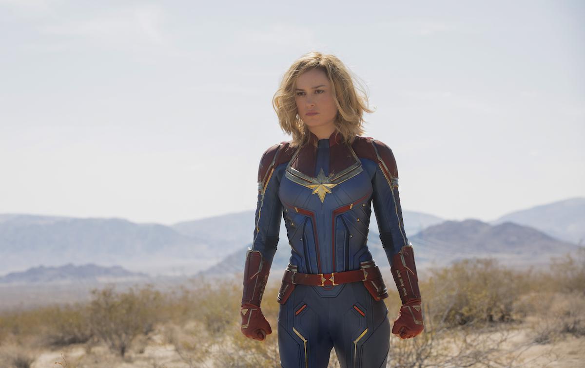 Brie Larson as Carol Danvers/Captain Marvel / Photo by Chuck Zlotnick