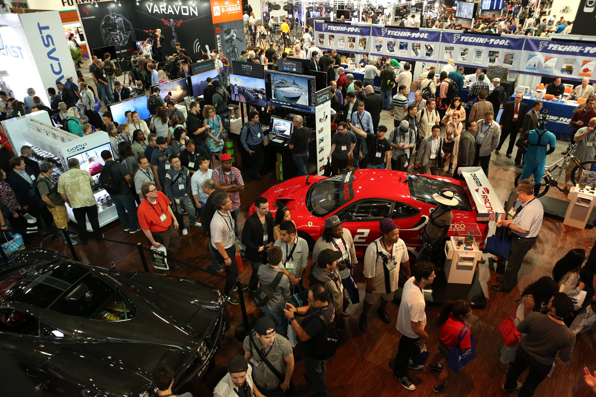 NAB South Hall - Opening Day - 2014 attendance surpassed 98,000