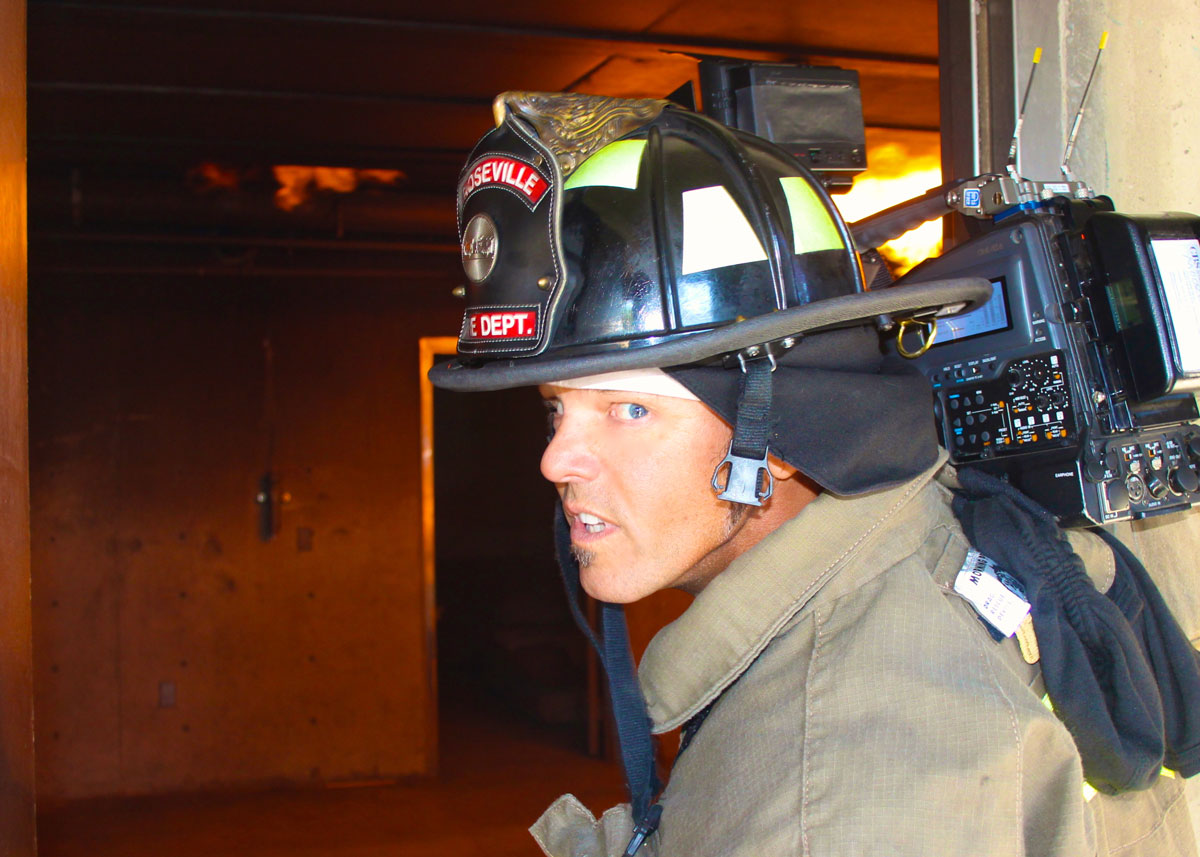 Fire Training for Local 600 Shop Steward Terry Haggart / Courtesy of Terry Haggart