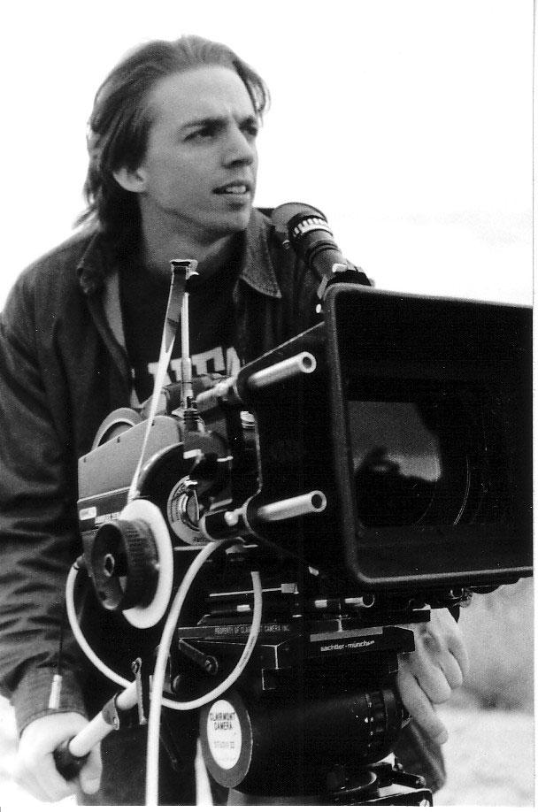 Matt Irving, USC Film School, 1993-1996 / Courtesy of Matt IrvingTracy and actor Edward Albert on No Regrets photo by Katherine Bomboy-Thornton