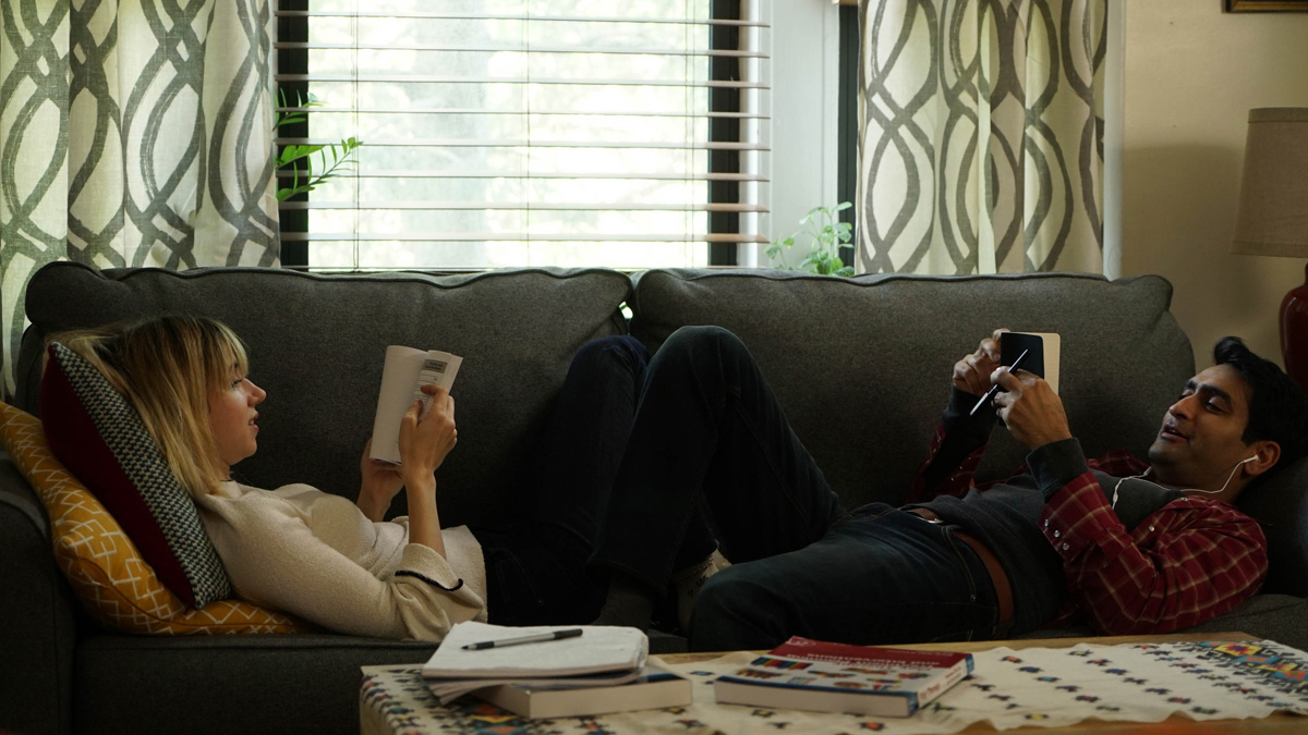 Based on a real-life courtship, the The Big Sick was shot by Brian Burgoyne / Photo by Nicole Rivelli
