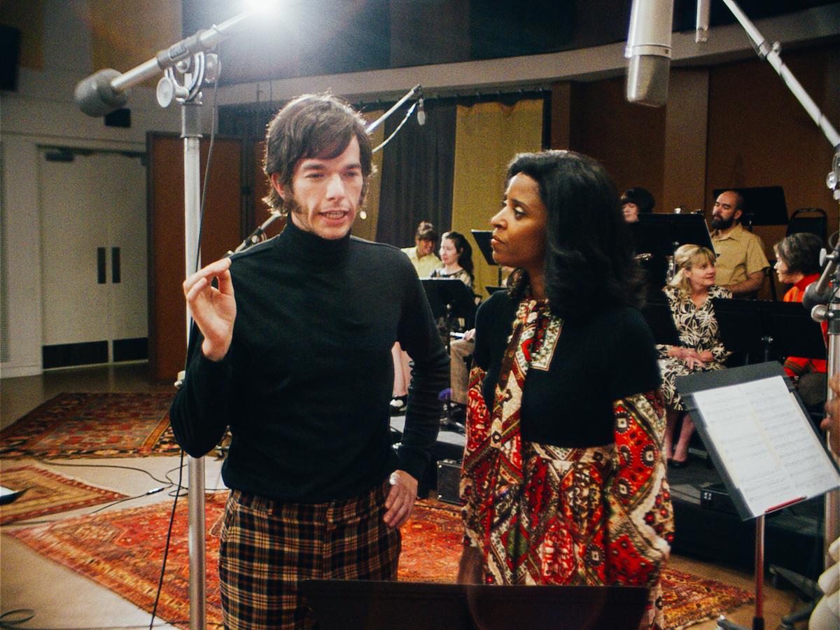 John Mulaney and Renee Elise Goldsberry in Documentary Now, Season 52 Preview / Courtesy Alex Buono / Sundance Institute
