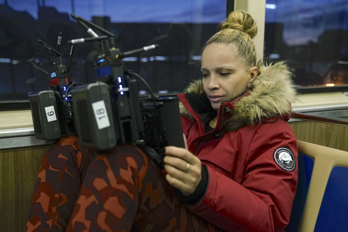 Director Victoria Mahoney / Photo: Parrish Lewis/CBS