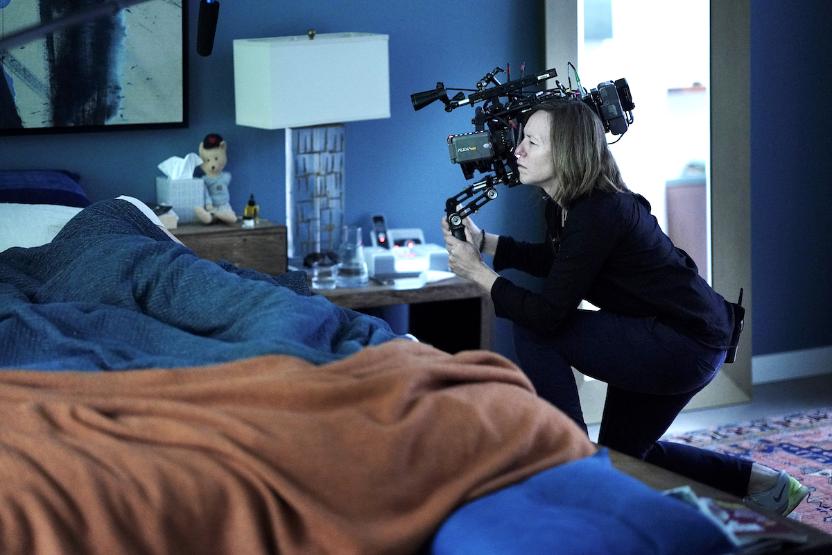 """Frohna makes a conscious effort to look for """" very skilled female operators,"""" like A-camera operator Shelly Gurzi, SOC, who began with the DP years ago as an AC. """"It's important to build up the role of women in leadership and creative positions on the set,"""" he adds."""